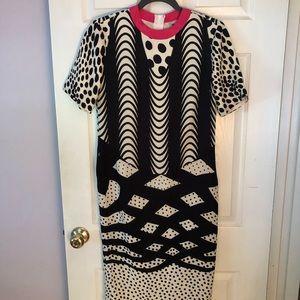 ASOS multi print dress